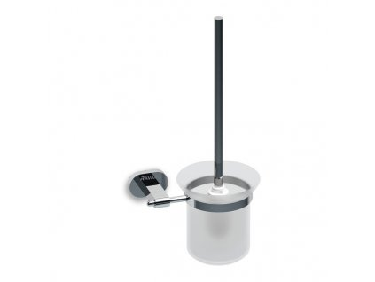 Ravak držák s nádobkou a WC štětkou Chrome - CR 410.00