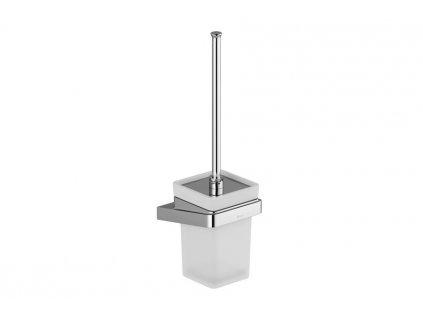 Ravak držák s nádobkou a WC štětkou 10° - TD 410.00