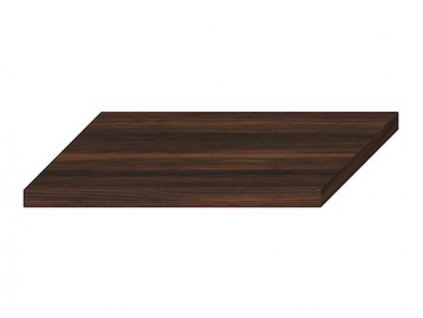 vyprodej jika cubito pure atypicka umyvadlova deska 82x42x3 6 cm bez otvoru bez podper tmava borovice h46j4200104611