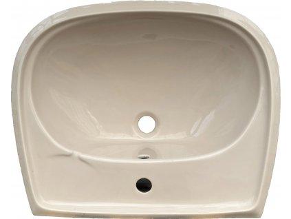 Jika závěsné umyvadlo Norma, 60x50 cm, bahama - 8142720181041