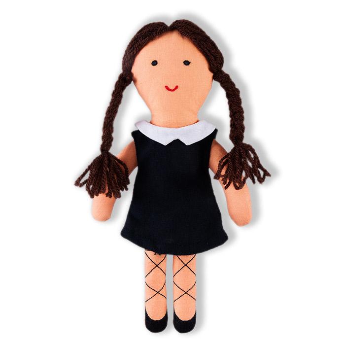 černobílá panenka
