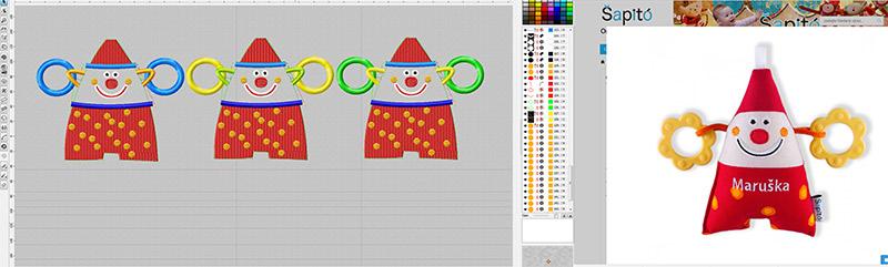 designování hraček