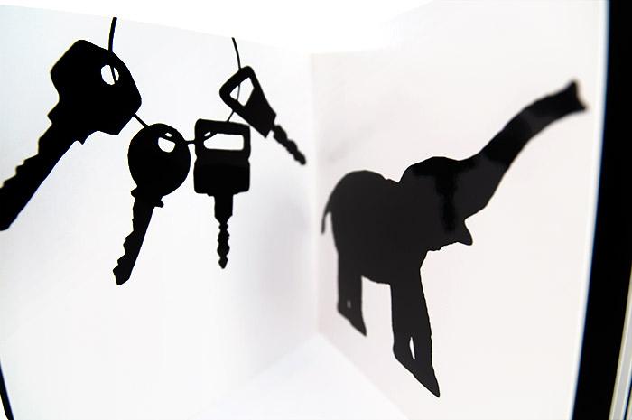 černobílé obrázky zvířátka