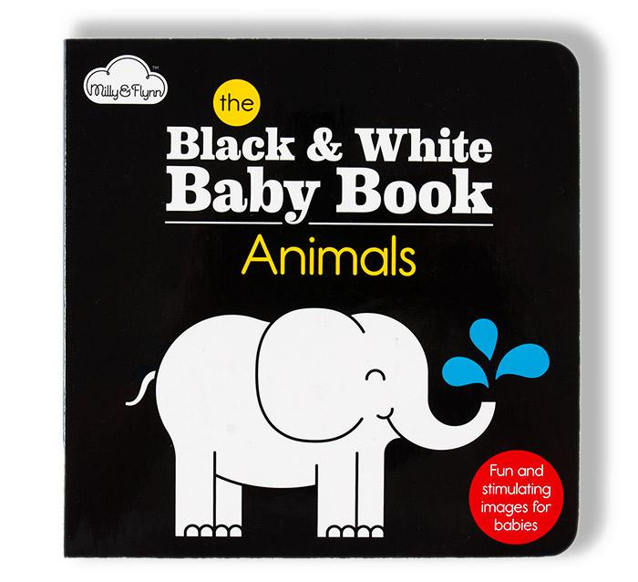 Black White Baby Book