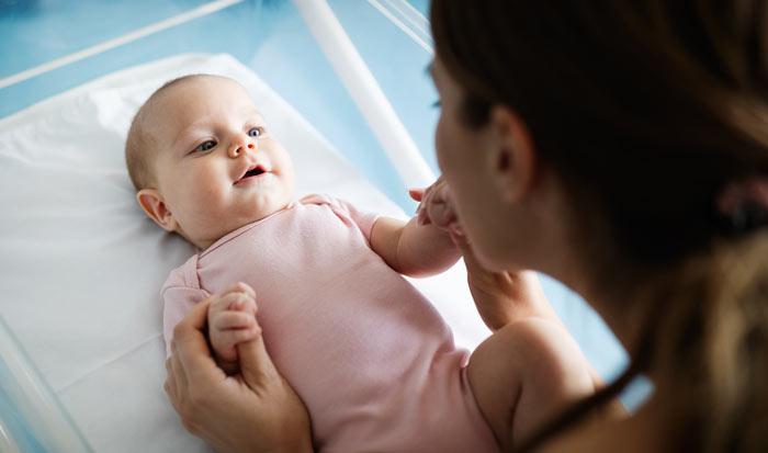 4.měsíční kojenec
