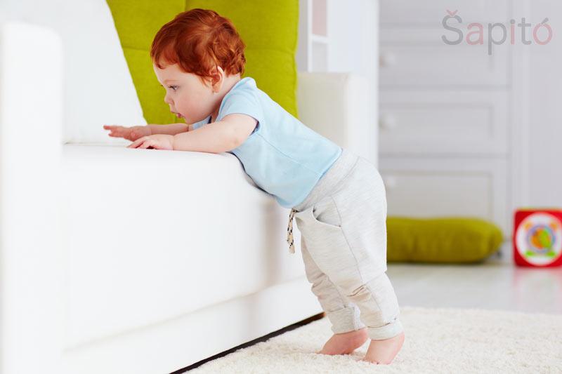vývoj dítěte 9 měsíc