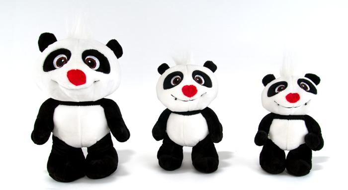 krtek a panda plyšák