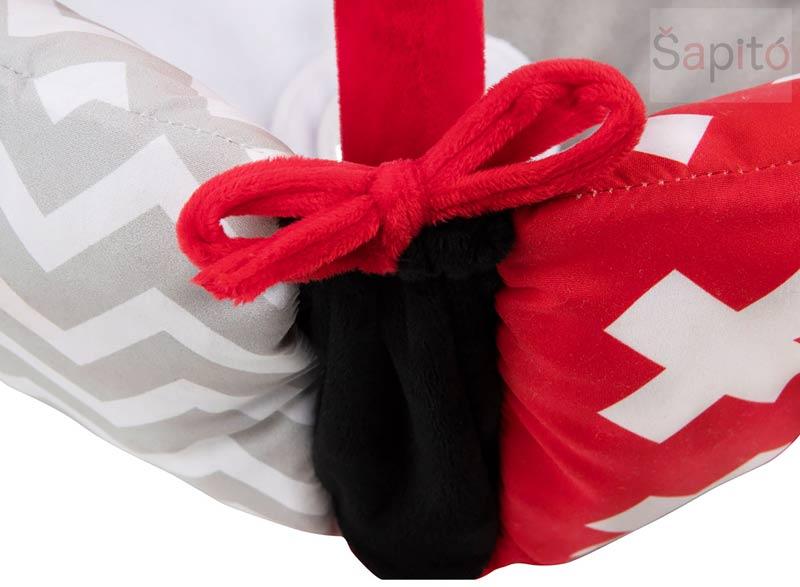 černobílá hrací deka