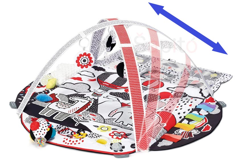 Kontrastní senzorická podložka 4SMART Kinderkraft