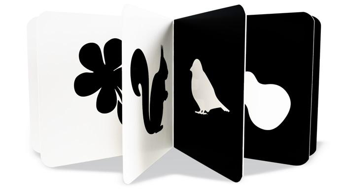 Černobílá stimulační kniha