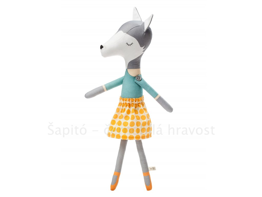 oblékací panenka Pani Pieska