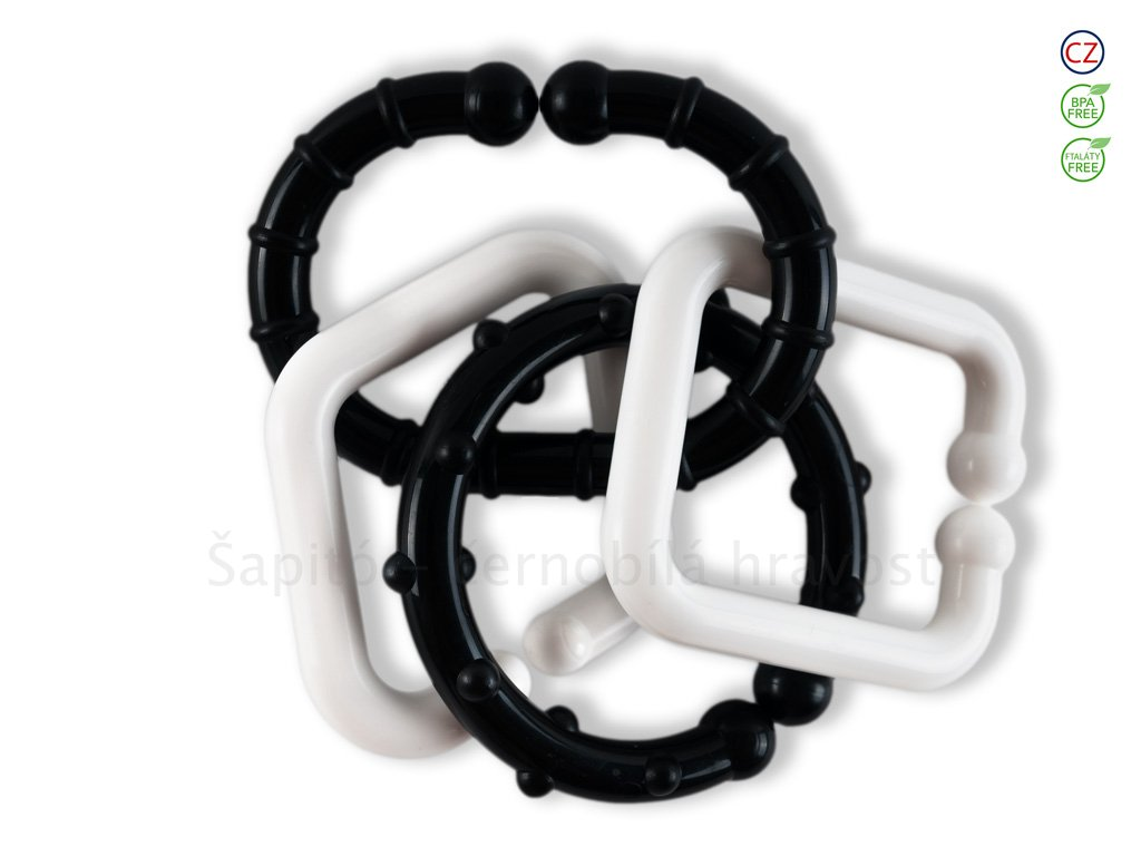 Černobílé hračky