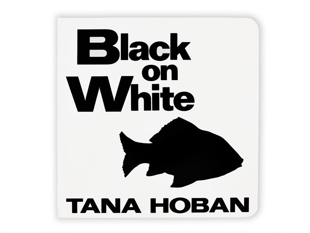 Černobílá stimulační kniha - Black on White