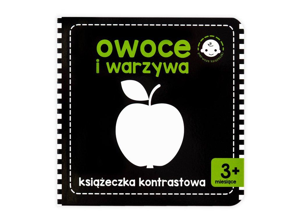 Černobílá stimulační kniha - Jablíčko