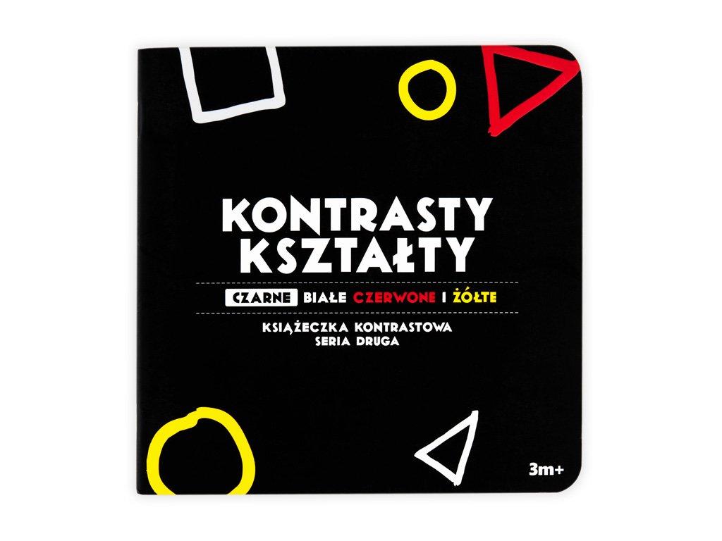 Černobílá stimulační kniha - Kontrasty
