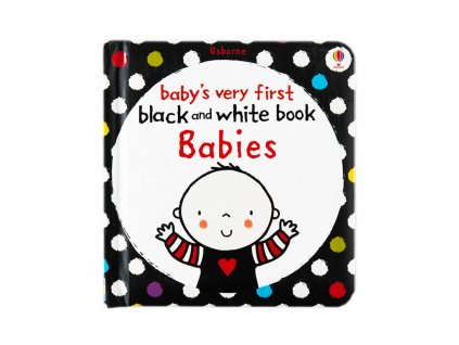 černobílá knížka pro miminko