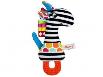 černobílé hračky pro miminka