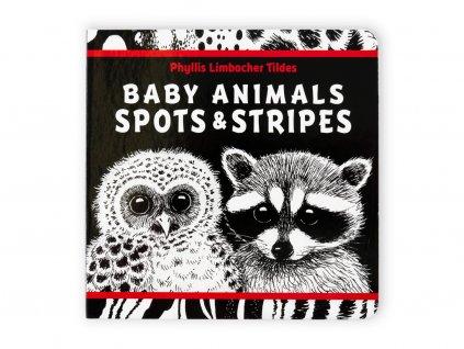 Kontrastní kniha pro novorozence