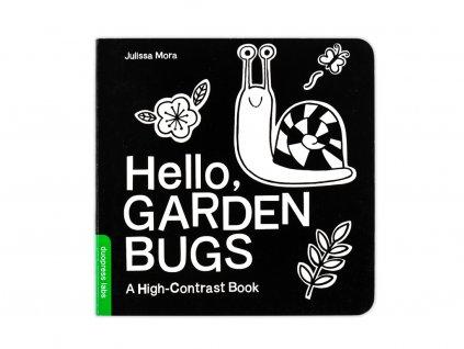 Černobílá stimulační kniha - Zahrada