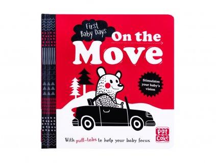 Černobílá rozkládací kniha - On the Move