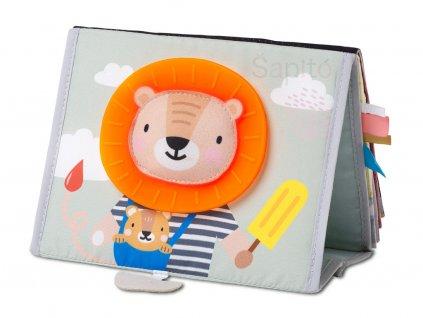 taf toys knížka pro hru na bříšku