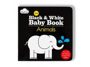 THE BLACK & WHITE BABY BOOK - ANIMALS