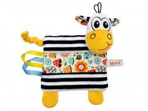 Černobílá hračka pro miminka