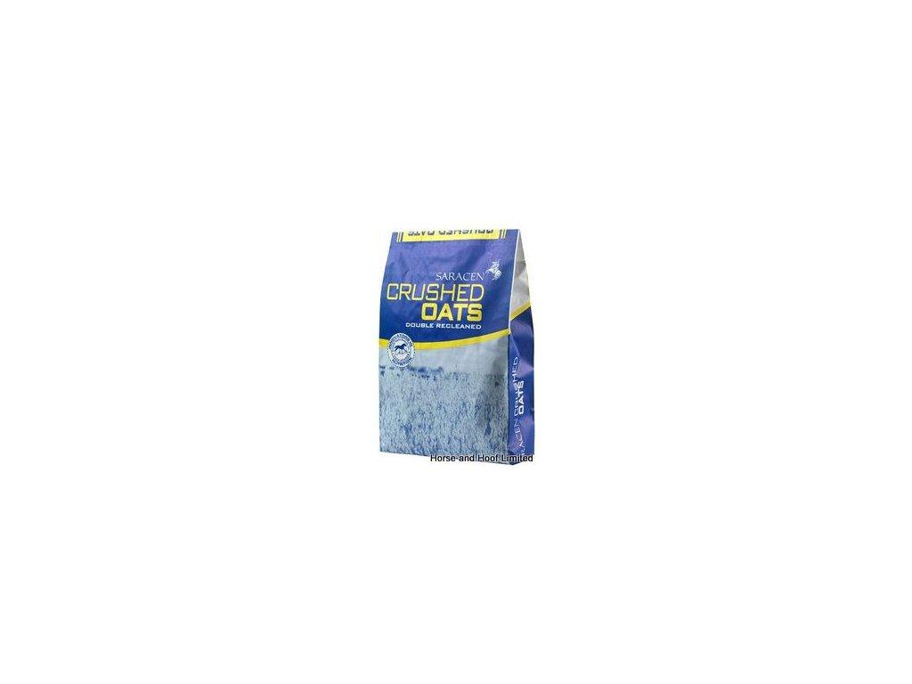 saracen crushed oats horse feed 20kg