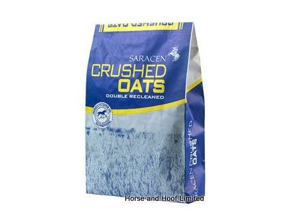 saracen crushed oats horse feed 20kg