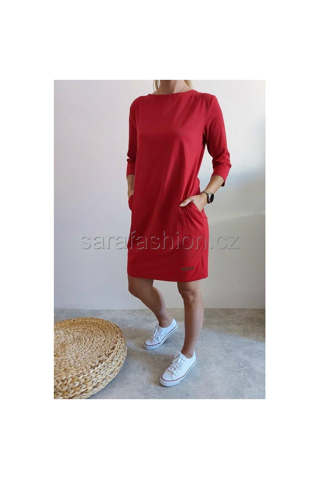 """Šaty """"tippy"""" červené"""