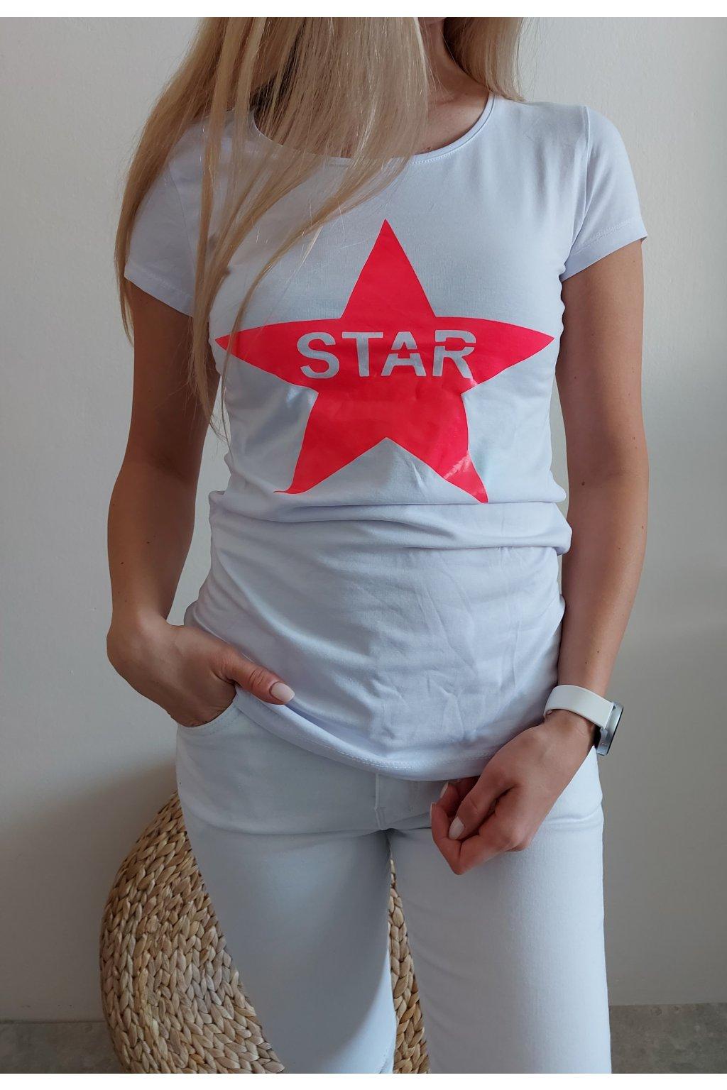 "TRIČKO ""STAR"" BARVY"