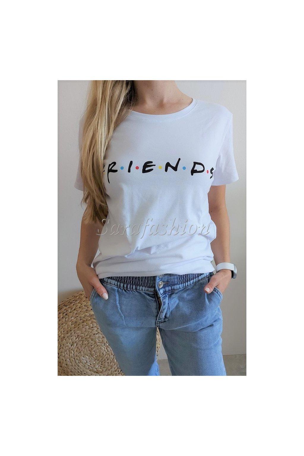 "TRIČKO ""FRIENDS"" BARVY"