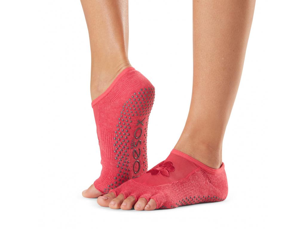 Bezprstové ponožky ToeSox Luna Grip. Hermosa