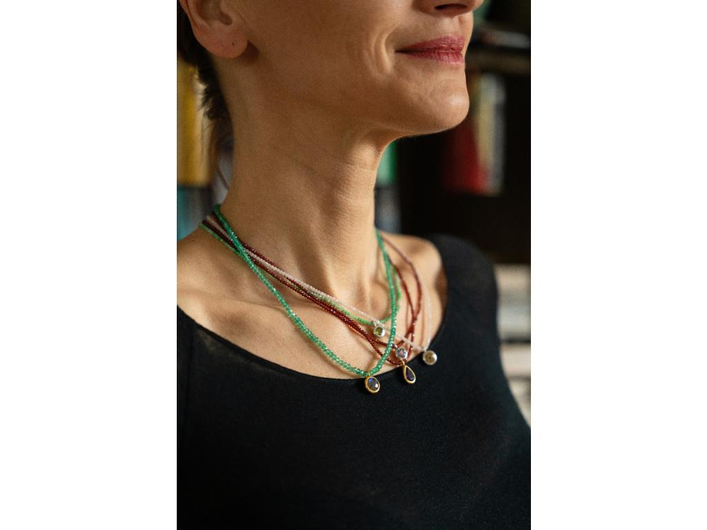 Pozlacený náhrdelník Izabela