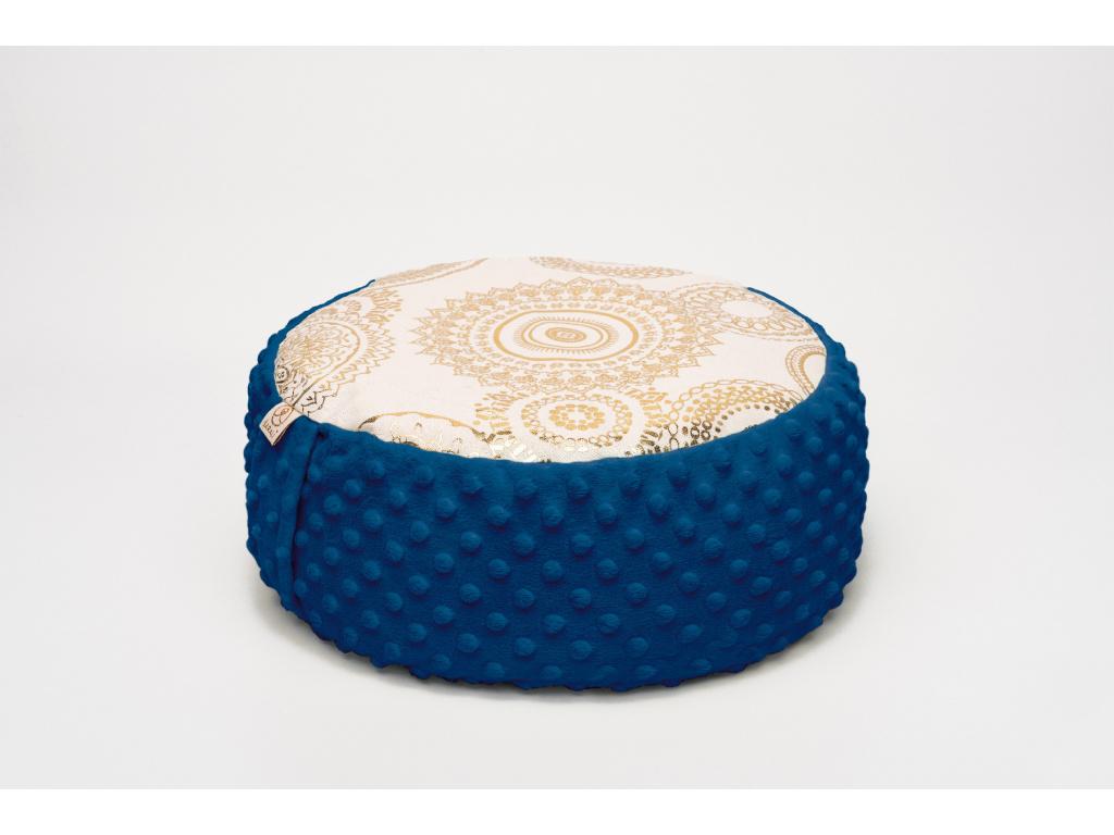 Meditační sedák Mandala - tmavě modrý