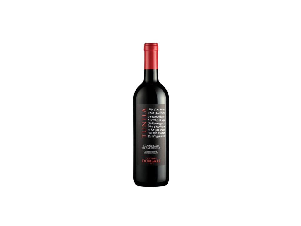 Cannonau Tunila DOC 2018 – červené víno