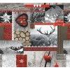 vánoční pvc ubrus, vintage, vše skladem