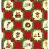 vánoční ubrusy pvc, tradiční vzor, červený, vše skladem
