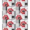PVC ubrus Fantastik 756 01 červená vlčí mák