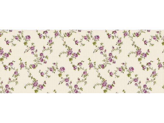 01314.01 růžová pnoucí růže pvc ubrus Sareha Florista