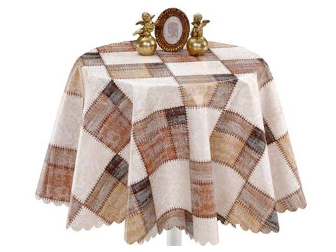 pvc ubrus Sareha, bytové doplňky, aquamaty, pěnové rohože, koupelnové předložky 1385-02 Florista