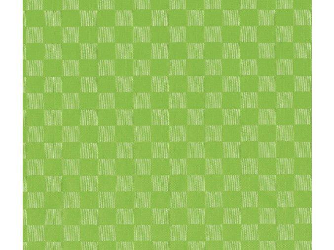 PVC plastový igelitový ubrus Fantastik Classic 543 62 zelná kostka