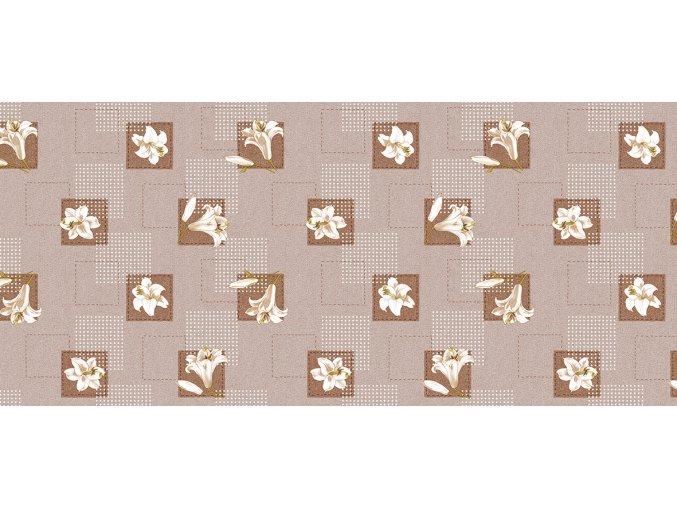 pvc ubrus lilie s možností desinfence proti covid19