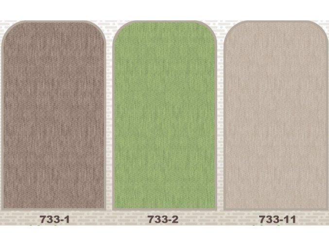 Terramat PVC pěnová předložka do koupelny, kuchyně 733