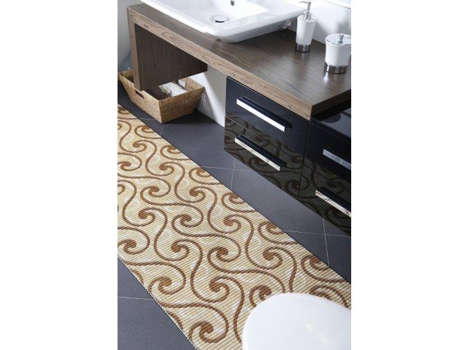 Pěnová předložka do koupelny, kuchyně - PVC - 594 esíčka