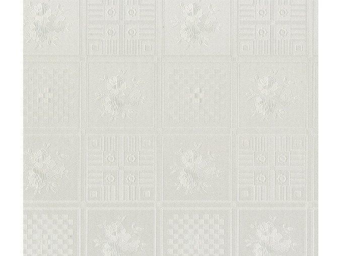 102-65 PVC ubrus Fantastik (bílá mozaika) role