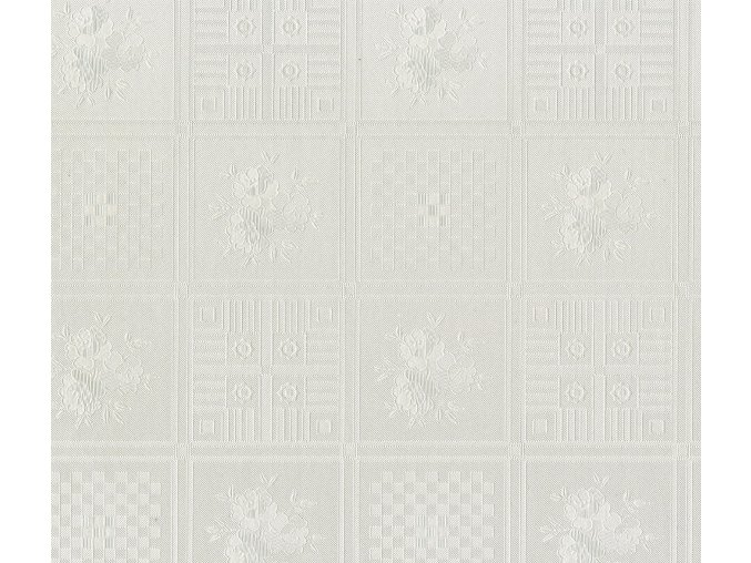 PVC ubrus Fantastik 102-65 (bílá mozaika) role