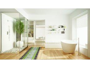 měkká koupelnová předložka z pvc 4026 aquamat