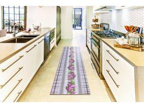 předložka do koupelny a kuchyně pěnová v roli 4032 retro růže