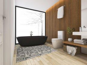 pvc role koupelnové rohože 4013 sareha